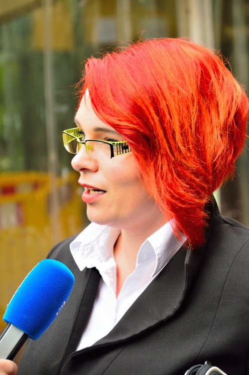 Wohlleben-Verteidigung RAin Nicole Schneiders - Foto: J. Pohl